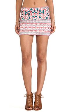 Antik Batik Careyes Mini Skirt in Cream