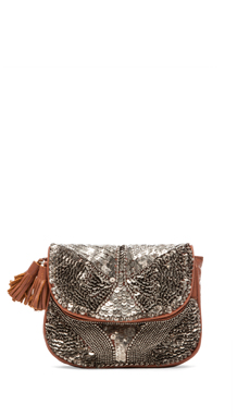 Antik Batik Darix Pouch in Brown