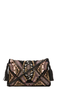 Antik Batik Inka Wallet in Black