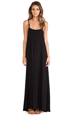 Acacia Swimwear Moorea Maxi Dress in Storm