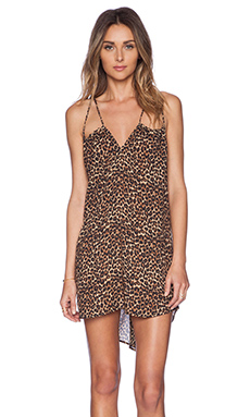 Acacia Swimwear Capri Mini Dress in Animal