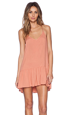 Acacia Swimwear St. Tropez Mini Dress in Papaya