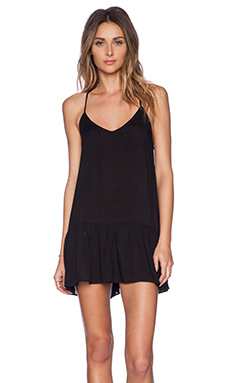 Acacia Swimwear St. Tropez Mini Dress in Storm