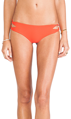 Acacia Swimwear Kauai Bottom in Hibiscus
