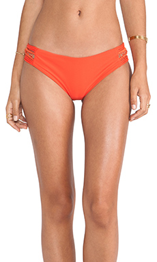 Acacia Swimwear Pikake Bottom in Hibiscus