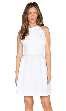 a.c.e. Emily Halter Dress in White