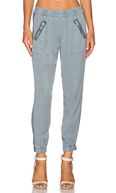 YFB CLOTHING Landry Pant in Slate Blue