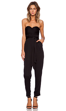 YFB Clothing Sweetheart Jumpsuit in Black