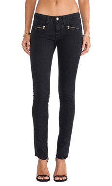 Acquaverde Morgan Jean in Stone Black