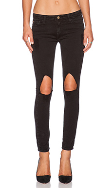 Acquaverde Scarlett Skinny in Black Stone Destroy