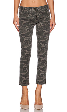 Acquaverde Pierce Utility Pant in Military Print