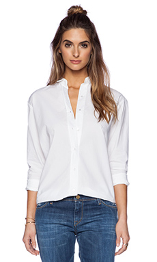 Acquaverde Button Up in White