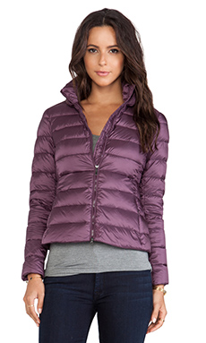 ADD Down Jacket in Aubergine