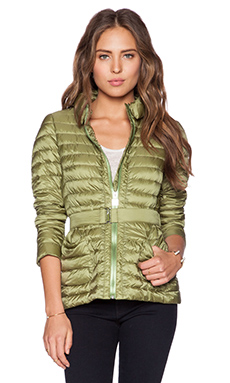 ADD Down Jacket in Green Moss