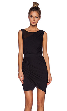 ADDISON Waverly Dress in Black
