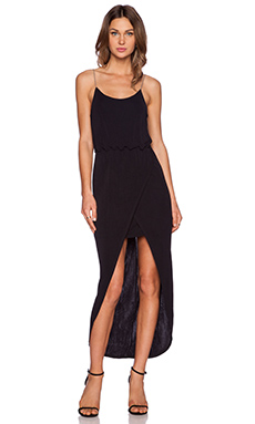 ADDISON Fendela Maxi Dress in Black