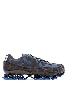 adidas by Raf Simons Bounce in Supply/Night Cargo/Bright Blue