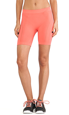 adidas by Stella McCartney YO Seamless Short in Bright Coral