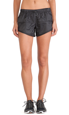 adidas by Stella McCartney Woven Running Shorts in Black