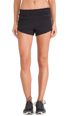 adidas by Stella McCartney Yoga Knit Shorts in Black
