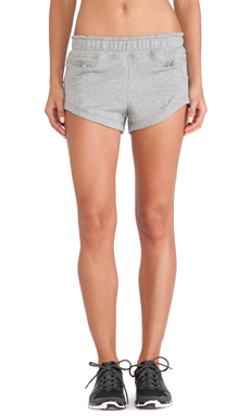 adidas by Stella McCartney Yoga Knit Shorts in Core Heather