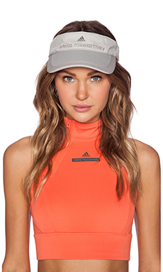adidas by Stella McCartney Tennis Visor in Glacial & Slate Grey