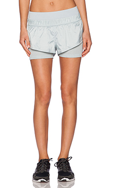 adidas by Stella McCartney Running Clima Short in Eggshell