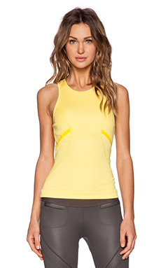adidas by Stella McCartney Running Tank Top in Glow Yellow