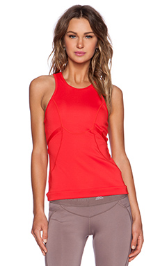 adidas by Stella McCartney Running Tank in Scarlet Red