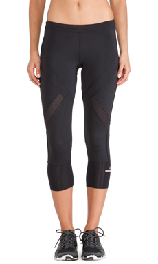 adidas by Stella McCartney Essentials 3/4 Starter Tights in Black