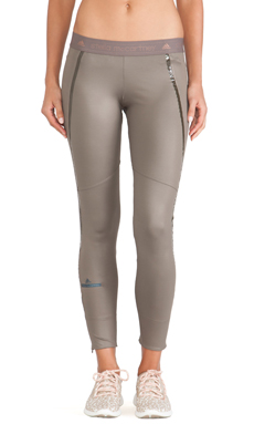 adidas by Stella McCartney Perforated Running Tights in Branch