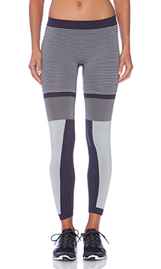 adidas by Stella McCartney Studio Tights in Dark Space & Platinum Mauve & Natural Grey
