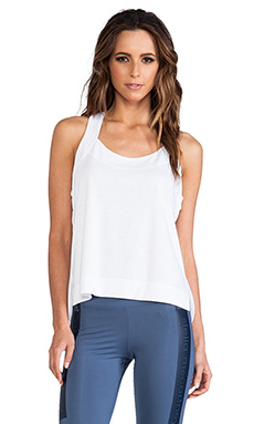 adidas by Stella McCartney Stu Dry Dye Tank in White