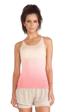 adidas by Stella McCartney Seamless Yoga Tank in Soft Powder