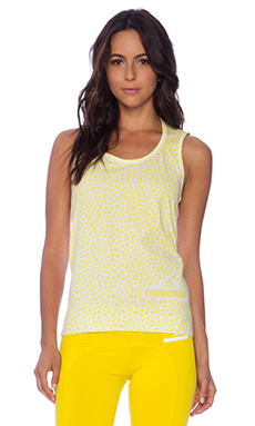 adidas by Stella McCartney Graphic Running Tank in White