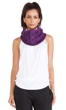 adidas by Stella McCartney Wintersport Ski Neck Warmer in Indigo & Pop Purple