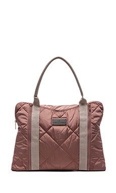 adidas by Stella McCartney Yoga Bag in Tanned Sand & Gunmetal
