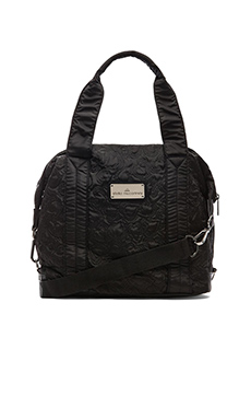 adidas by Stella McCartney Small Gym Bag in Black