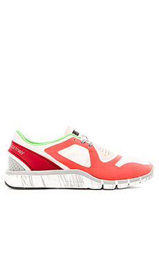 adidas by Stella McCartney Adipure Sneaker in Pale Pink & Toasted Orange