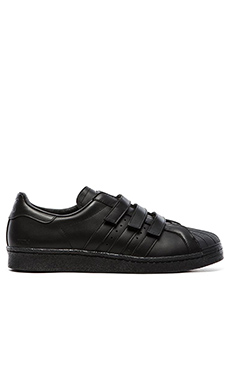 adidas by JUUN J Superstar 80s JJ in Black Black Black