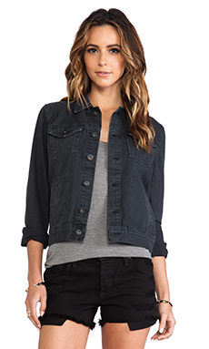 AG Adriano Goldschmied Charlie Jacket in Black Adlet
