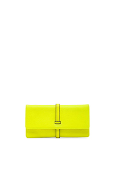 Annabel Ingall Leyla Clutch in Citrus