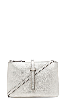 Annabel Ingall Jojo Crossbody in Silver
