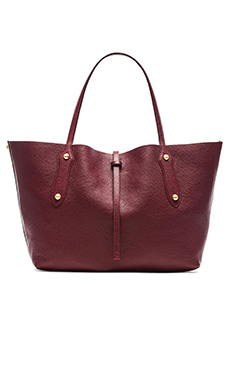 Annabel Ingall Small Isabella Tote in Eggplant