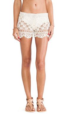 Anna Kosturova Antoinette Shorts in Cream