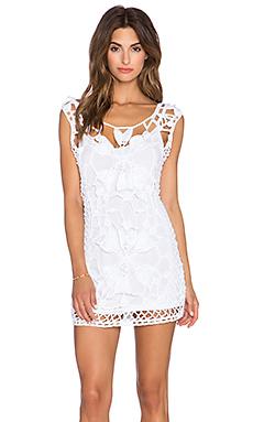 Anna Kosturova Magnolia Dress in White
