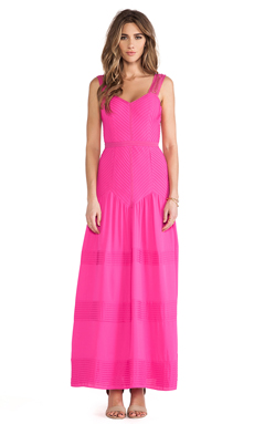 Alice by Temperley Long Mina Dress in Fuchsia