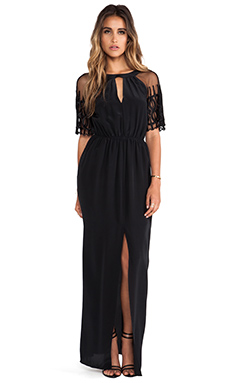 Alice by Temperley Everette Maxi Dress in Black