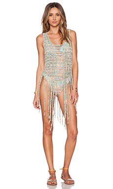 ale by alessandra Good Vibes Vest in Festival