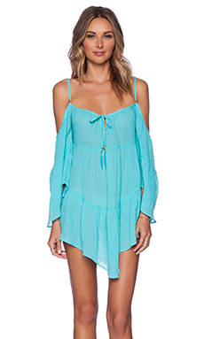 ale by alessandra Tied and True Gypsy Dress in Robin Blue